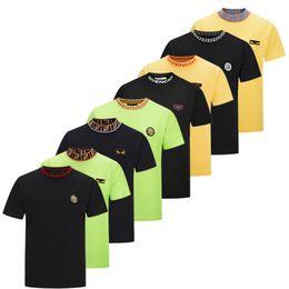 2019 Marque Designer GY T Shirt Hip Hop Blanc Vêtements Pour Hommes Casual T Chemises Pour Hommes Avec Des Lettres Imprimé TShirt Taille M-3XL