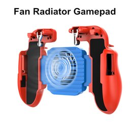 $enCountryForm.capitalKeyWord NZ - 2019 SR Portable Cooler Cooling Fan Gamepad H5 Pubg Telefoon Controller Hand Grip Gampads with Power Bank Smart Telefoon Trigger Game PUBG