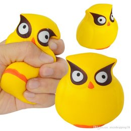 $enCountryForm.capitalKeyWord Australia - Excellent Discout now 8cm Decompression toy Cute eagle Squishies Toys Kawaii big eyes Slow Rising Knead toy Reliever Kids Gift new arrival