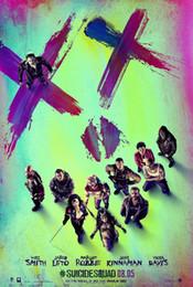 $enCountryForm.capitalKeyWord Australia - Suicide Squad DC Comics Original Movie wall decor Art Silk Print Poster 97