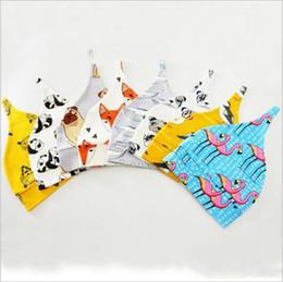 Toddler Skull Beanie Australia - Baby Hats Dinosaur Flamingo Skull Caps Girls Winter Animal Print Sleeping Beanie Kids Fashion Head Wraps Toddler Turban Xmas Headwear