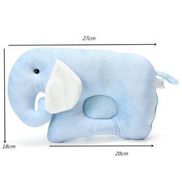 $enCountryForm.capitalKeyWord NZ - Baby Infant Newborn Head Positioner Pillow Flat Head Prevent Anti Roll Sleep Cushion Shaping Pillow Cute Elephant Shape Bedding