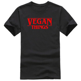 T Tshirts Australia - Vegan Things Women Mens T shirts Womens Tops Tees Clothing Letters Printed Tshirts