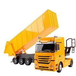 $enCountryForm.capitalKeyWord Australia - RC Truck 1:32 Dumper 10 Wheel Tilting Cart Radio Control Tip Lorry Auto Lift Engineering Container Vehicle Electronic Hobby Toy