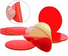 Double Sided Tape Lcd NZ - 10Pcs 3M Circle Double Sided Tape Strong Acrylic Adhesive Red Clear Double Side Tapes No LCD Phone Tablet Screen