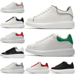 $enCountryForm.capitalKeyWord Australia - ACE New Leather Trainers Mens Tennis Shoes Black White Reflective Green Suede Red Python Womens Sneakers Silver Glitter Rainbow Luxury Shoes