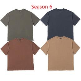 853113d0 Season 6 KANYE WEST T Shirt Men Women Streetwear Summer T-shirt Harajuku  Short Sleeves Top Tees Season 6 Tshirt