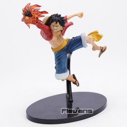Luffy Pvc Figure Toy Brinquedos Anime 18cm One Piece Monkey D Luffy Action Figure Gear Second Fire Fist Ver Toys & Hobbies
