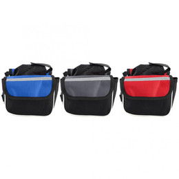 Bike Double Bag UK - 'Rainproof' Durable Bicycle Double Hanging Riding Bags 3-in-1 Bike Tube Bag Cycling Accessory Bicycle Bags