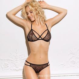 $enCountryForm.capitalKeyWord NZ - Women Sexy Lace Bra Thong Lingerie Babydoll Sleepwear Nightwear Underwear+G String Suits (black,white)(XS-XXXL)