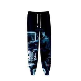$enCountryForm.capitalKeyWord UK - Blueface Hip Hop Pants Men Loose Camouflage Joggers Print Streetwear Harem Pants Clothes Ankle Length Trousers 2019 Sweatpants