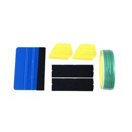 $enCountryForm.capitalKeyWord UK - Car Wrapping Tools 10M Knifeless Tape Squeegee Scraper Tool Kit for Car Vinyl Wrapping Film Cutting Line Tools