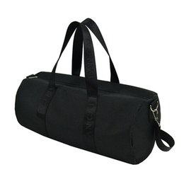 f80f44f1ce3d Black Foldable Large Sports Bag Gym Bag Men Women Storage Ball Sports  Fitness Yoga Portable Shoulder Sac De Sport KZ006L  355924