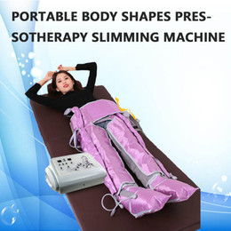 Air Pressure Slimming Suit Australia - presoterapia lymph drainage air pressure therapy massage suit pressotherapy slimming machine