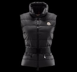 Women Down Hooded Vests Australia - best shipping new Fashion M Brand Winter Down Vest for Women Coat Slim Vests Female Sleeveless Jacket 90% Real duck down