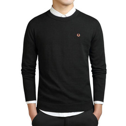 Imported jackets online shopping - Mens hoodies jacket coat New Fashion Men Winter Embroidery Sweaters O Neck Long Sleeve Knitted Sweatercoat Imported clothing Plus Size XL