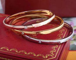 Original pulsera diseñador de Ca de la Mujer para hombre pulsera del brazalete del diseñador del amor de la joyería del diseñador mujeres pulseras envío de la gota en venta