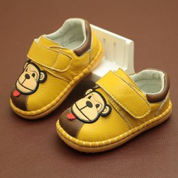 $enCountryForm.capitalKeyWord NZ - Spring 2019 New Boys And Girls Soft-soled Toddler Cute Cartoon 0 - 3 Year Old Baby Single Shoes First Walkers Y190529