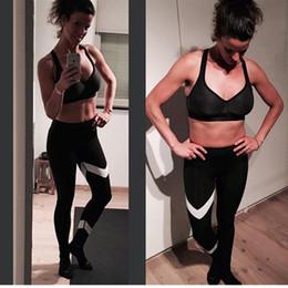 $enCountryForm.capitalKeyWord Australia - Yoga Pants Women Leggings S-XL Slim Stretch Sport Yoga Leggings Running Tights Gym Training Leggins Sportswear Striped Pants