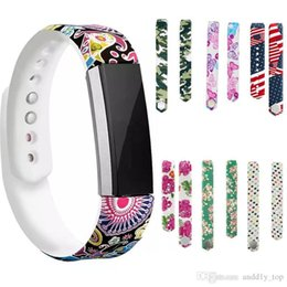 Großhandel Für Fitbit Alta Armband Weiche Tpu Silikon Bunte Intelligente Riemen Fitbit Ersatzband Tragbare Intelligente Armband In Opp Paket