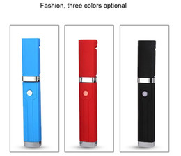 Levers Universal NZ - Selfie Stick New Lipstick Mini Self Timer Rod Metal Wire Monopod Telescopic Artifact Self Timer Lever for Mobile Phone Universal