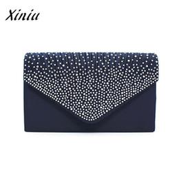 $enCountryForm.capitalKeyWord NZ - Xiniu Quality Large Evening Satin Bridal Diamante Ladies Handbag Clutch Bag Luxury Handbags Womens Bags Fashion Designer Pouch #187195