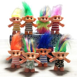 $enCountryForm.capitalKeyWord NZ - 2019 New 10cm Trolls Doll Action Figures Doll Super Cute 14 Styles Clothing Good Luck Trolls Toy Christmas Gifts For Children