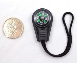 Cheap gadgets online shopping - Outdoor Gadgets Mini New Hanging Ring Hand Compass For Camping Cheap Portable Hiking Tools Plastic Rope Sling Compass