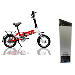 Free Shipping US EU AU Folding Electric Bicycle Battery 36v 10AH for High Power 350w 500w Electric Vehicle Motor +BMS+ Charger on Sale