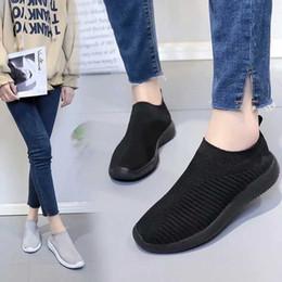 $enCountryForm.capitalKeyWord NZ - Summer Shoes Woman Sneakers Breathable Mesh Women Flats Summer Adult Comfortable Walking Female Trendy Brand Footwear MM-307