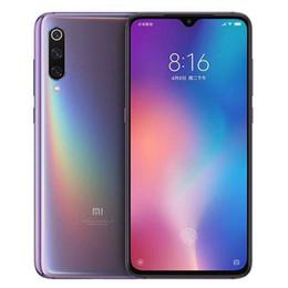 Оригинал Xiaomi Mi 9 Mi9 12 ГБ 256 ГБ Мобильный телефон Snapdragon 855 Octa Core 6,39