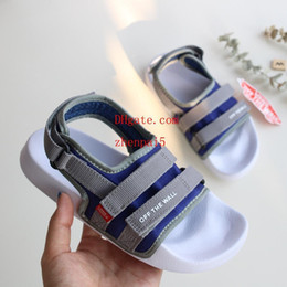 european sandals shoes 2019 - kids Sandals Beach shoes New European And American Outdoor Sandals Summer Roman style Children's Soft-soled Anti-sk