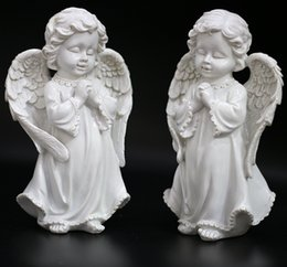 Angels Figures Australia - 2017 New Angel Figures Resin Ornaments Children Room Decoration Technology Home Furnishing Birthday Gift