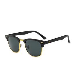 $enCountryForm.capitalKeyWord NZ - 2019 Ray Brand Sunglasses Vintage Pilot wayfarer Sun Glasses Bans UV400 Mens Womens Men Women Ben Glass bain Lenses With box 3016