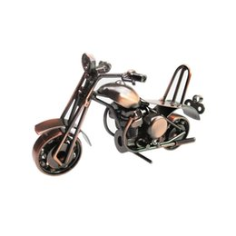 Wholesale Harley Motorcycle Model Iron Art Metal Craft Harley Motorcycle Model Toy M36 Motorbike Models Home Decoration Birthday Gifts