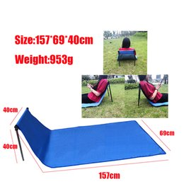 Folding portable seat mat online shopping - Portable Waterproof Walker Chair Travel Lazy Folding Chair BBQ Compact Seat Outdoor Camping Picnic Mat With Storage Bag