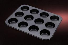 $enCountryForm.capitalKeyWord NZ - 12 Holes Cake Decoration Non-stick Baking Tools Stainless Steel Bakeware Mold For Women DIY