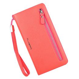 $enCountryForm.capitalKeyWord UK - Wallet Women's multi color Double Zippers Purse Female Wallets card bits iphone Handy Bags Pocket Women Wallets clutchs