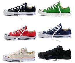 $enCountryForm.capitalKeyWord Australia - 2020 New star big Size 35-46 Casual Shoes Low top stars Classic Canvas Shoe Men's Women's Canvas Shoes