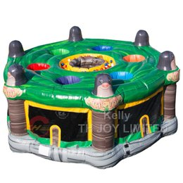 $enCountryForm.capitalKeyWord Australia - 6m dia Outdoor Inflatable Human Whack A Mole hammer bit Sport Game inflatable whack a mole sport game cheap carnival Interactive fun Games