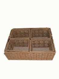 $enCountryForm.capitalKeyWord UK - Basket rattan woven storage box suitable for household desktop sundries basket woven basketcloth art baskets willow woven storage box