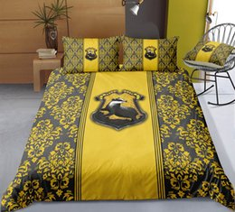 $enCountryForm.capitalKeyWord Australia - Thumbedding Harry Potter Bedding Sets King Size Floral Duvet Cover Set Queen Twin Full Single Double Animal Bed Set With Pillowcases 3pcs