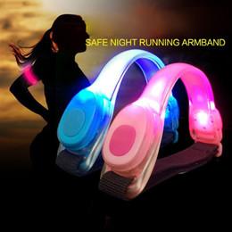 $enCountryForm.capitalKeyWord UK - Fluorescent Night Running LED Lamp Signal Light Luminous Bracelet Foot Ring Reflective Arm Belt Safety Warning Lights Outdoor Signal Light