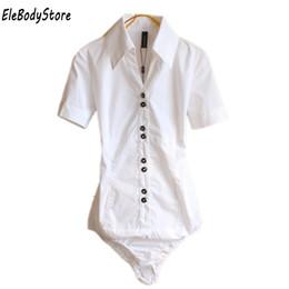 $enCountryForm.capitalKeyWord Australia - 2019 Blouse Women Body Shirt Blusas Womens Blouses Shirts Summer Tops Elegant Plus Size Short Sleeve Office White Black Clothes Y19062601