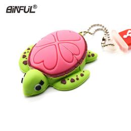 $enCountryForm.capitalKeyWord Australia - Lovely Usb Flash 8gb Cartoon Tortoise Memory Stick 32gb Sea Turtle Pen Drive 4gb 64gb Pendrive16gb