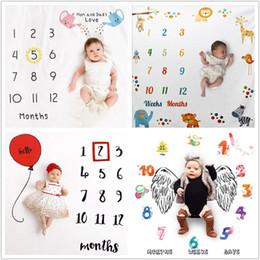 Baby Blanket Background Blanket Newborn Photography Props Infant Rug Baby Boy Girl Milestone Photo Props Photography on Sale