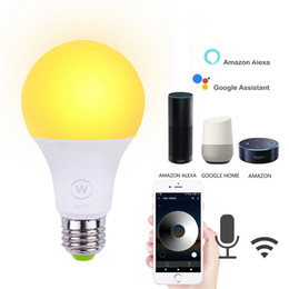 $enCountryForm.capitalKeyWord Australia - Wifi Remote Control Smart Bulb 6.5W RGB Magic Smart Home Automation Wireless Light Bulbs Lights Compatible with Alexa Google
