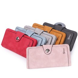 $enCountryForm.capitalKeyWord NZ - Multi-function Women's Wallet Credit Card Mobile Phone Holder Large Capacity Handbag Ladies PU Leather Long Purse for Gift Party