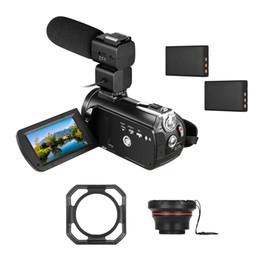 $enCountryForm.capitalKeyWord Australia - Andoer AC5 WiFi 4K UHD 24MP Digital Video Camera Recorder +0.39X Wide Angle Lens +Lens Hood +External Microphone +Camera Holder
