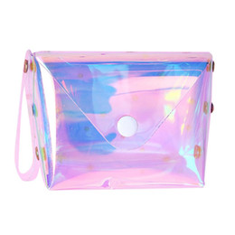 plastic coin bags Australia - Girls Cute Jelly Transparent Coin Purse Plastic Mini Zipper Hasp Change Clutch Bag Wallet Key Bag Storage Bag